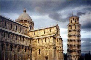 The Tower & Cathedral at Pisa