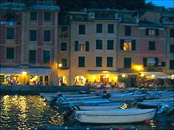Portofino at dusk
